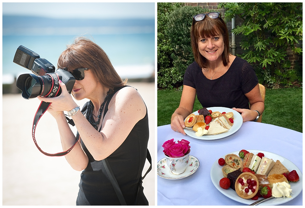 Wedding Photographer's afternoon tea