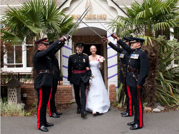 Bournemouth Wedding photography ~ The Orchid Hotel