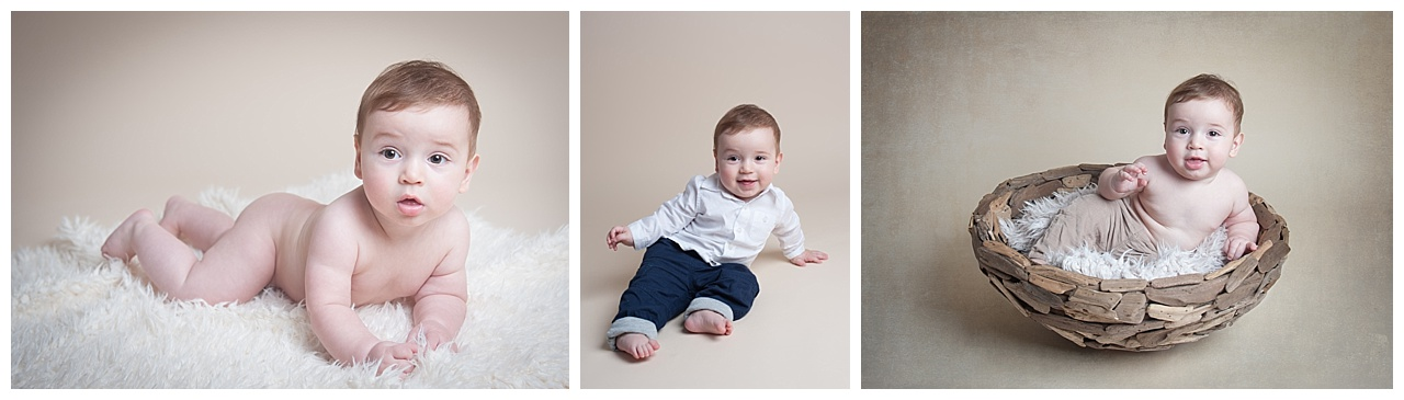 Sitting Baby Photography