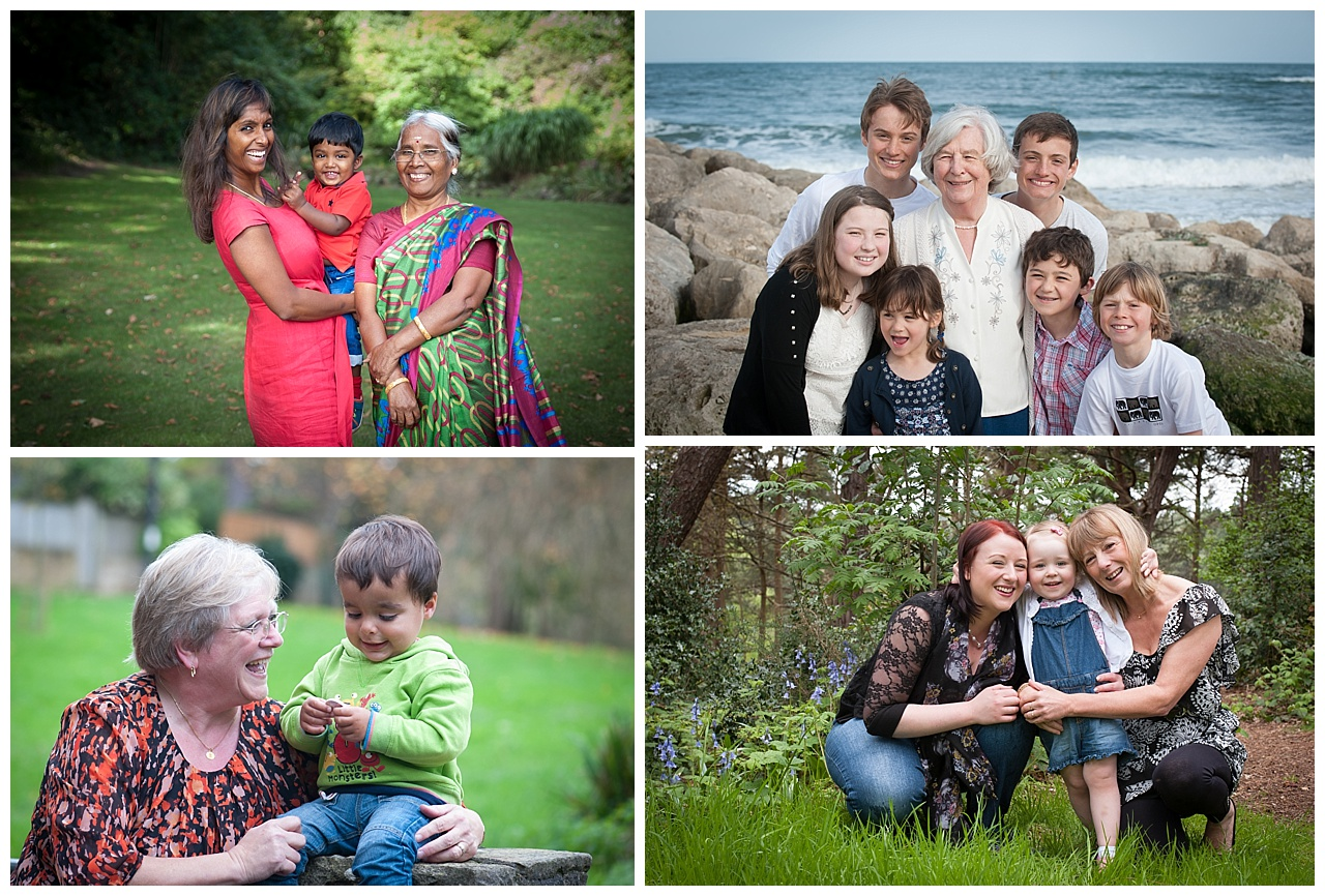 Family location photography Bournemouth