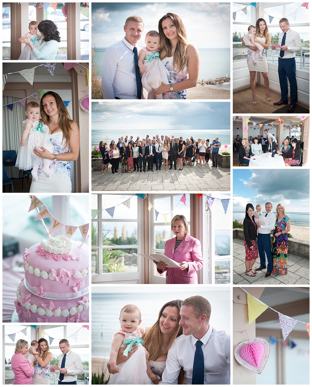 Bournemouth Naming Ceremony Photography