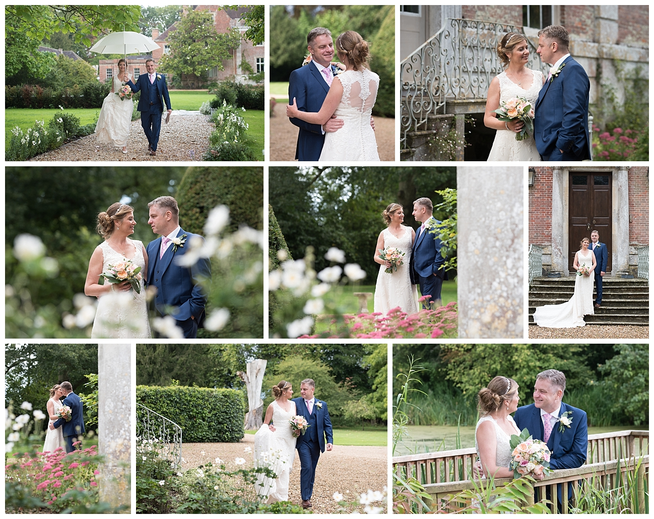 Bournemouth wedding photographer couple shots