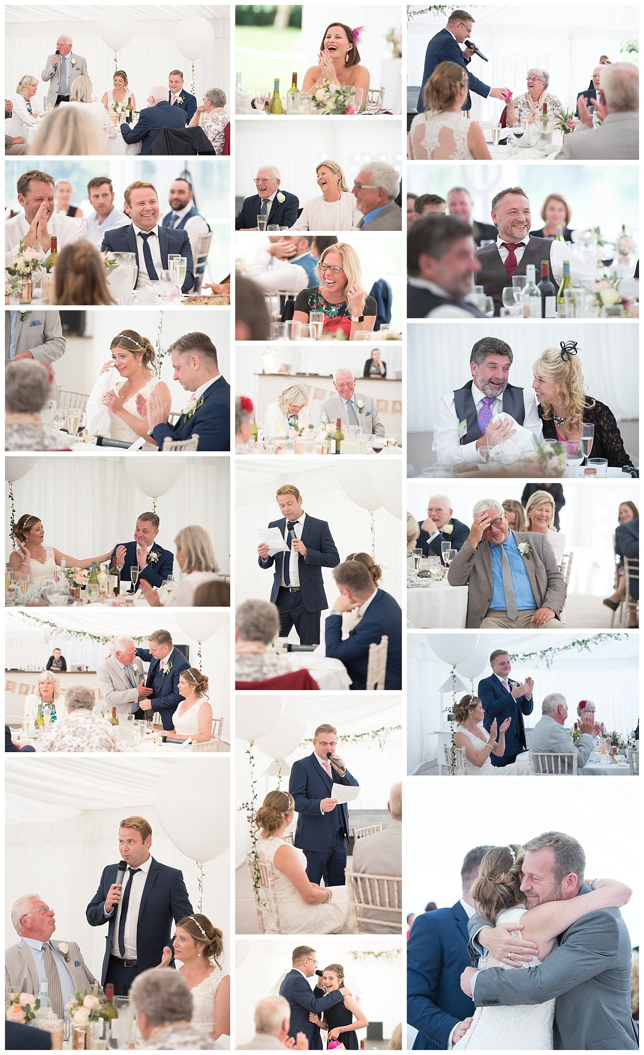 Bournemouth Wedding Photography speeches