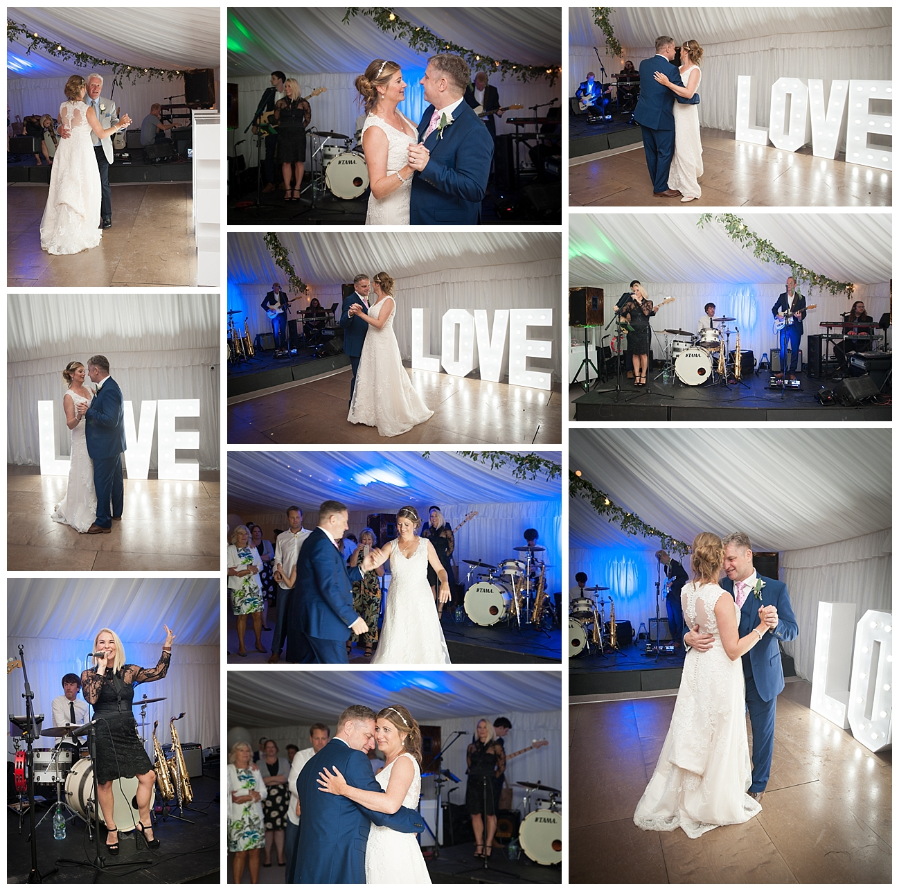 Bournemouth wedding photography first dance