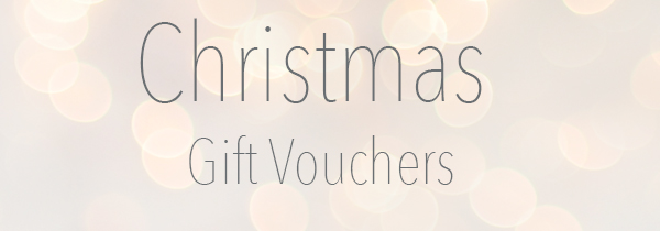 Christmas Gift Vouchers – The perfect Christmas gift