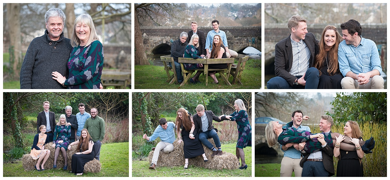 Dorset Family Portrait shoot
