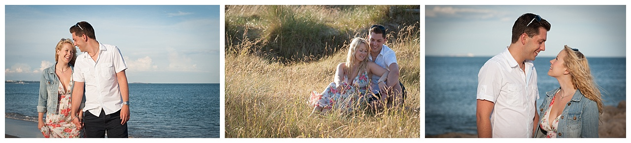 Sandbanks engagement photography
