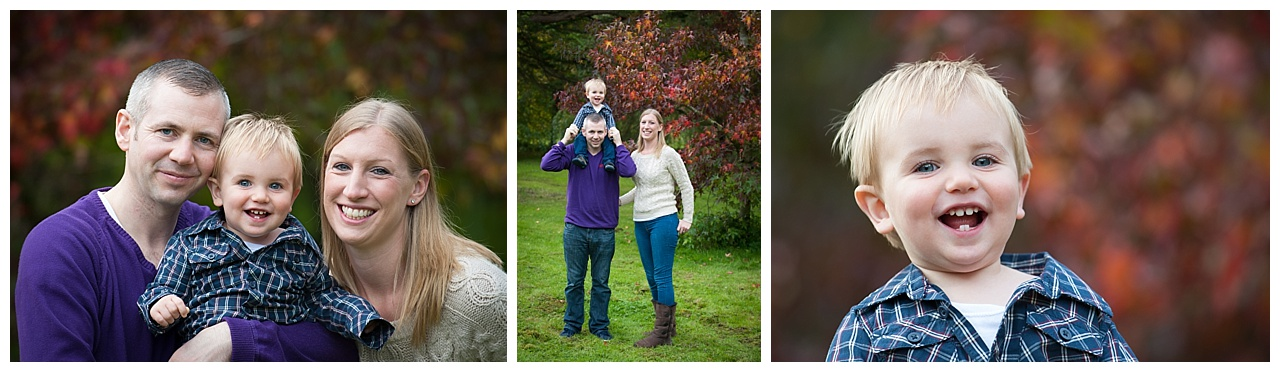Dorset autumn family location Portrait shoot