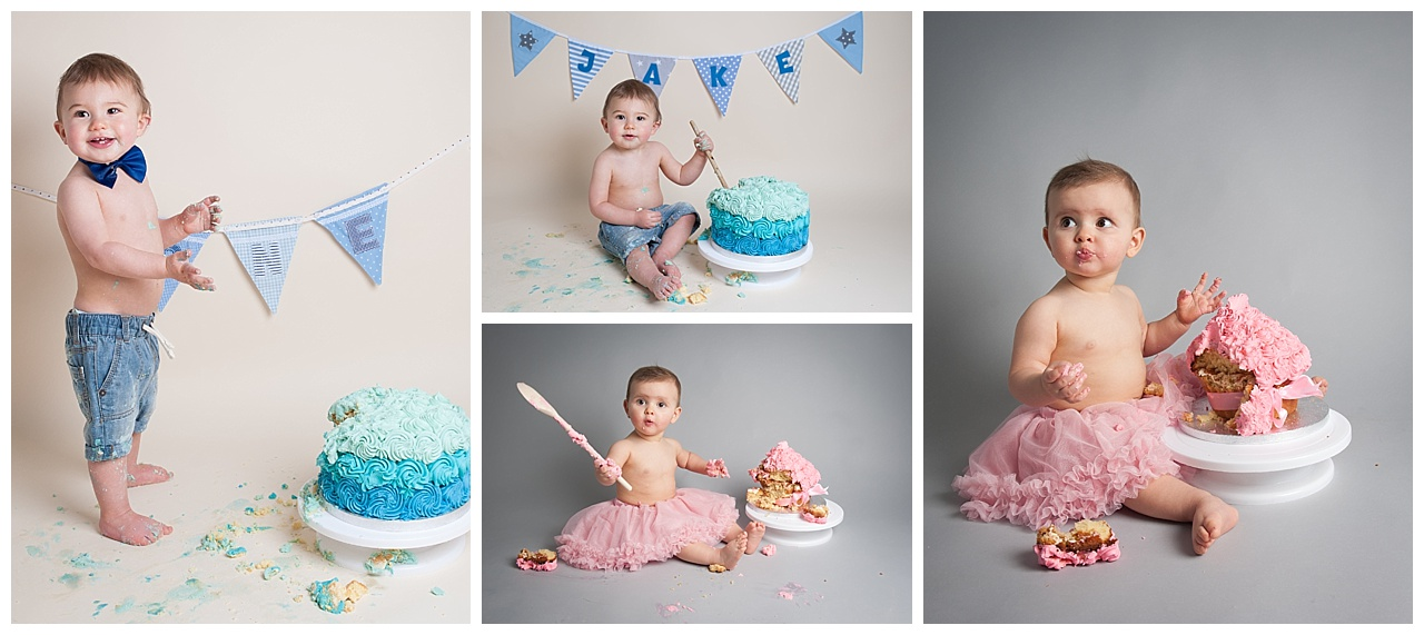 Cake Smash Photography Bournemouth