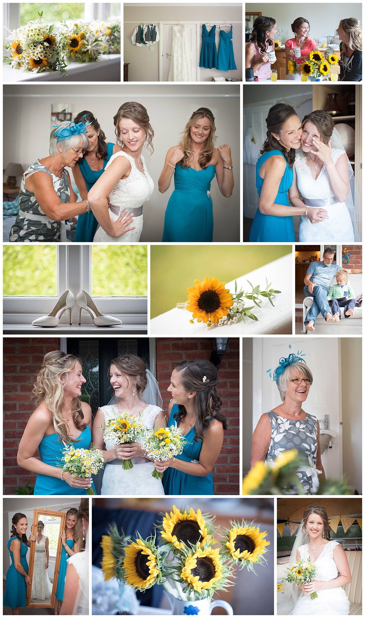 The Old Vicarage Wedding Photography preperaations