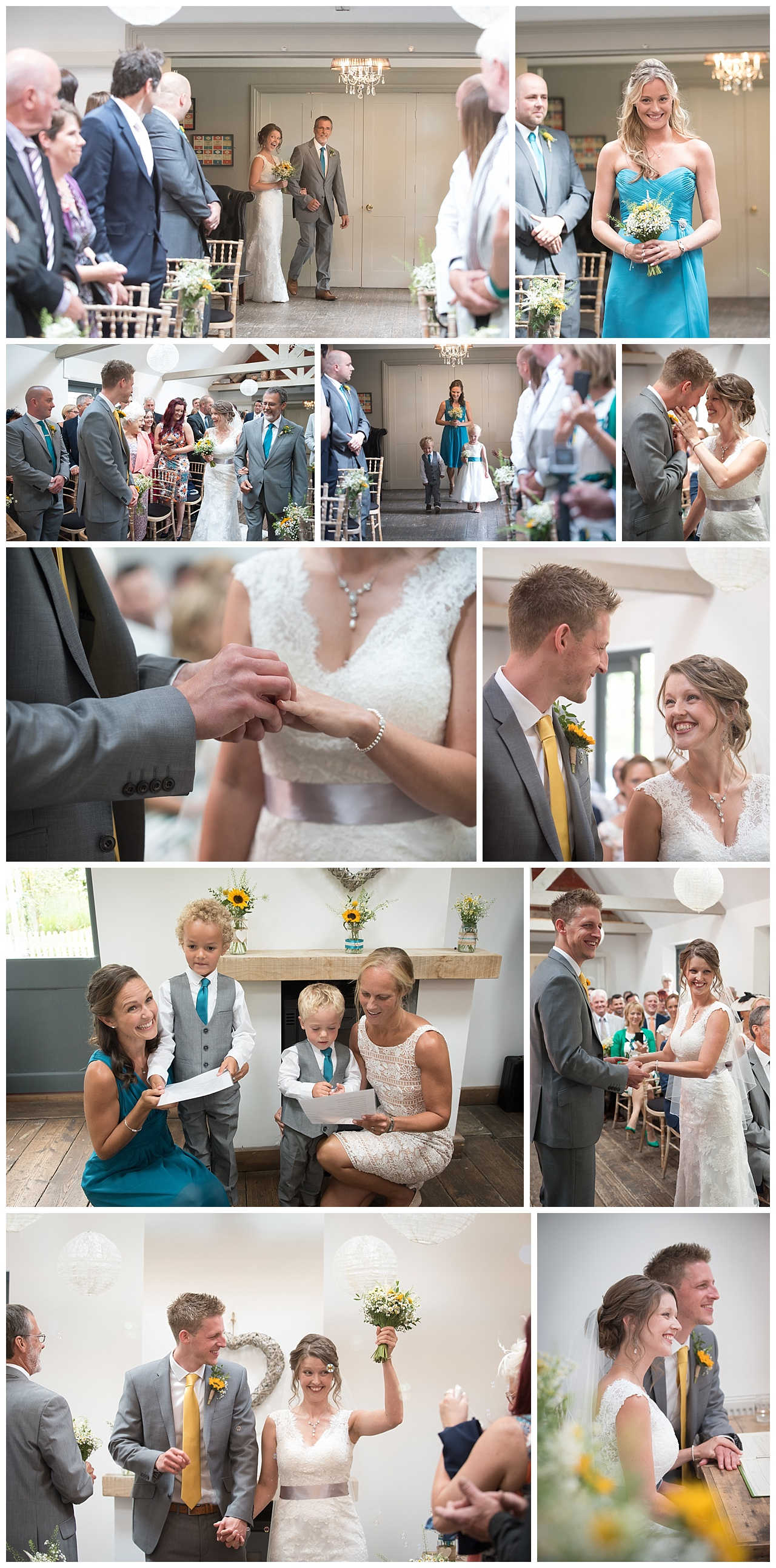The Old Vicarage Wedding Photography Ceremony