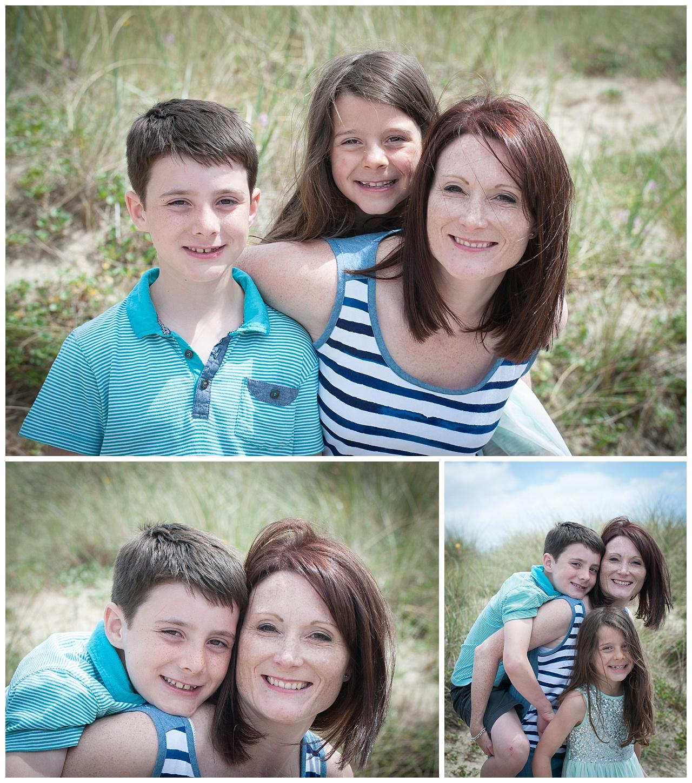 Sandbanks Beach Family location photography
