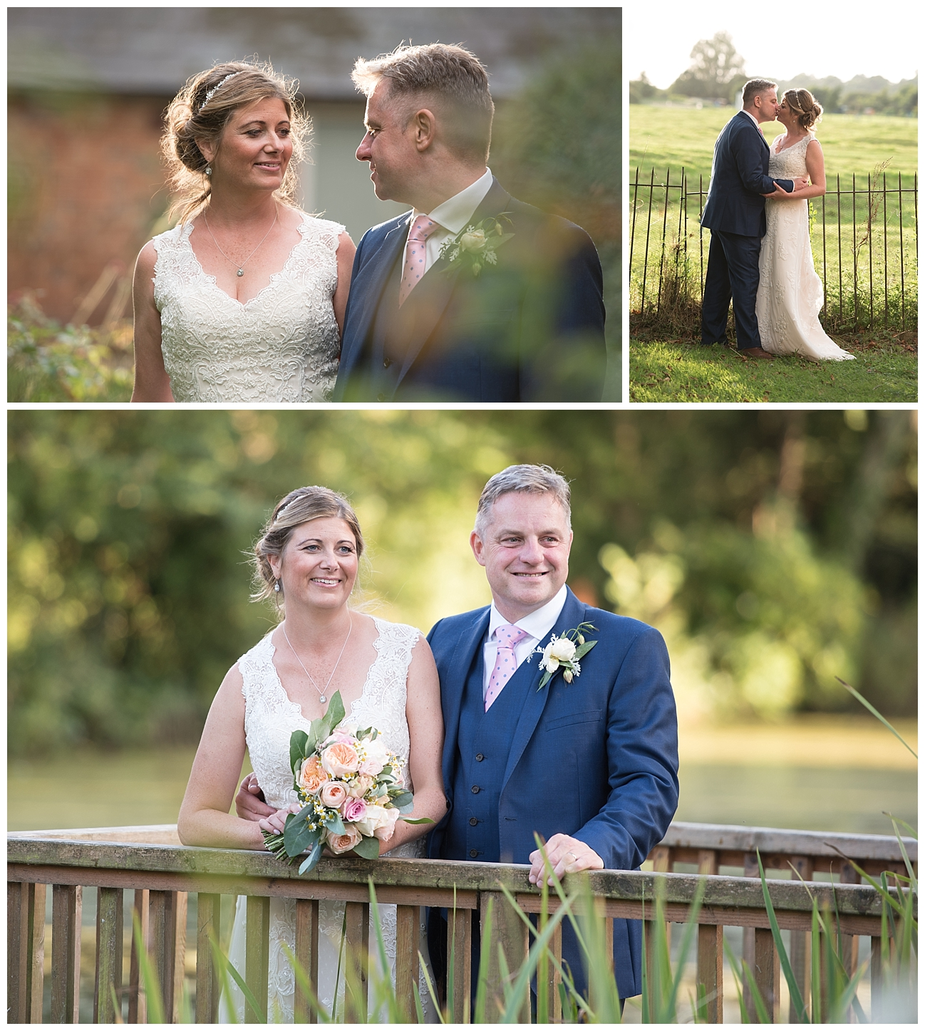 Bournemouth wedding photographer at Dene's Court