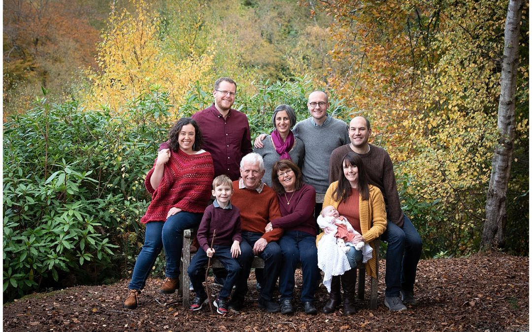Autumn family location photoshoot – Special offer