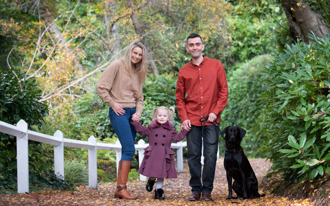 Autumn family mini sessions
