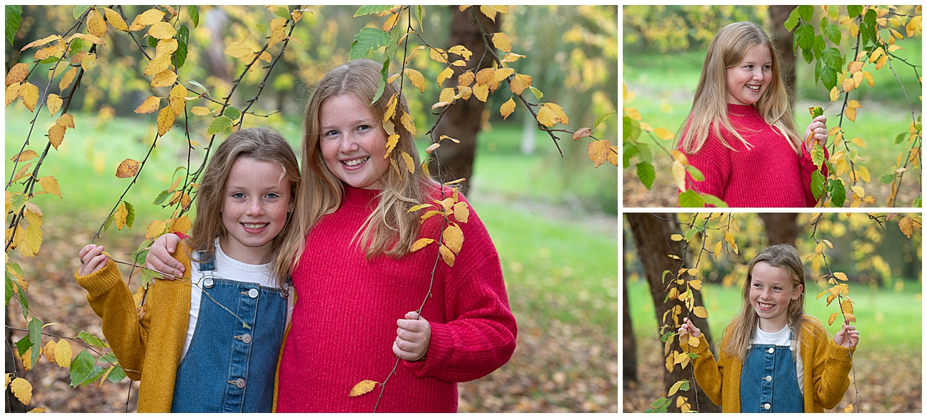 Autumn family photos