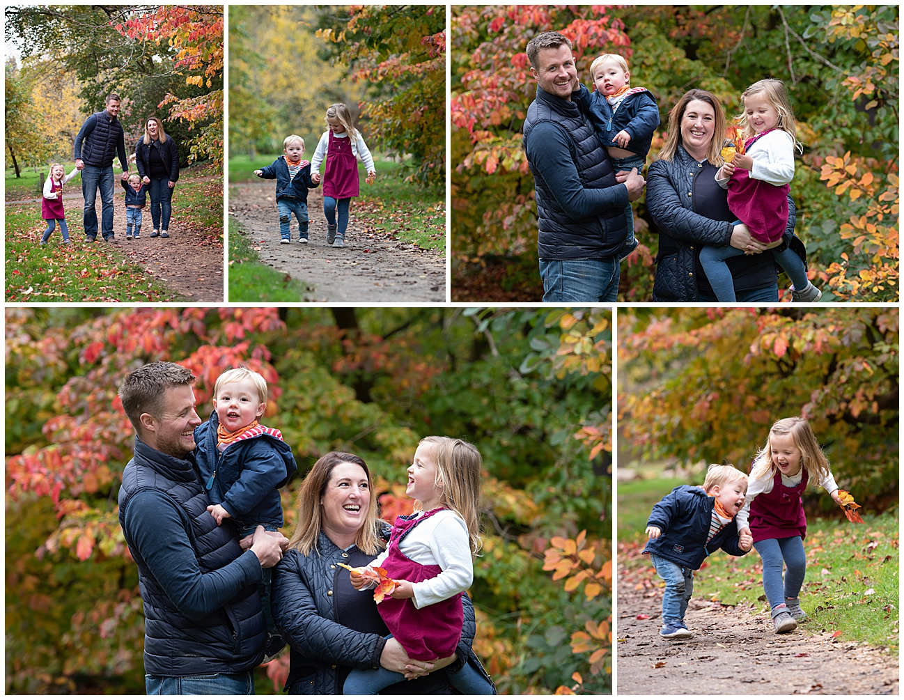 Autumn family photo session