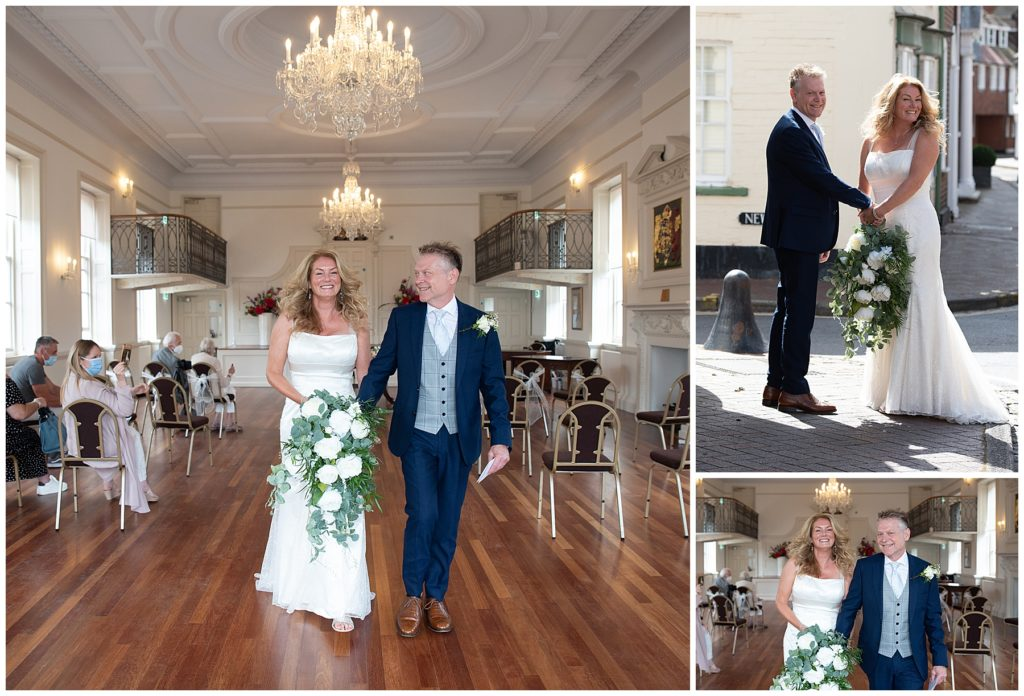 Poole micro wedding at Poole Registry Office