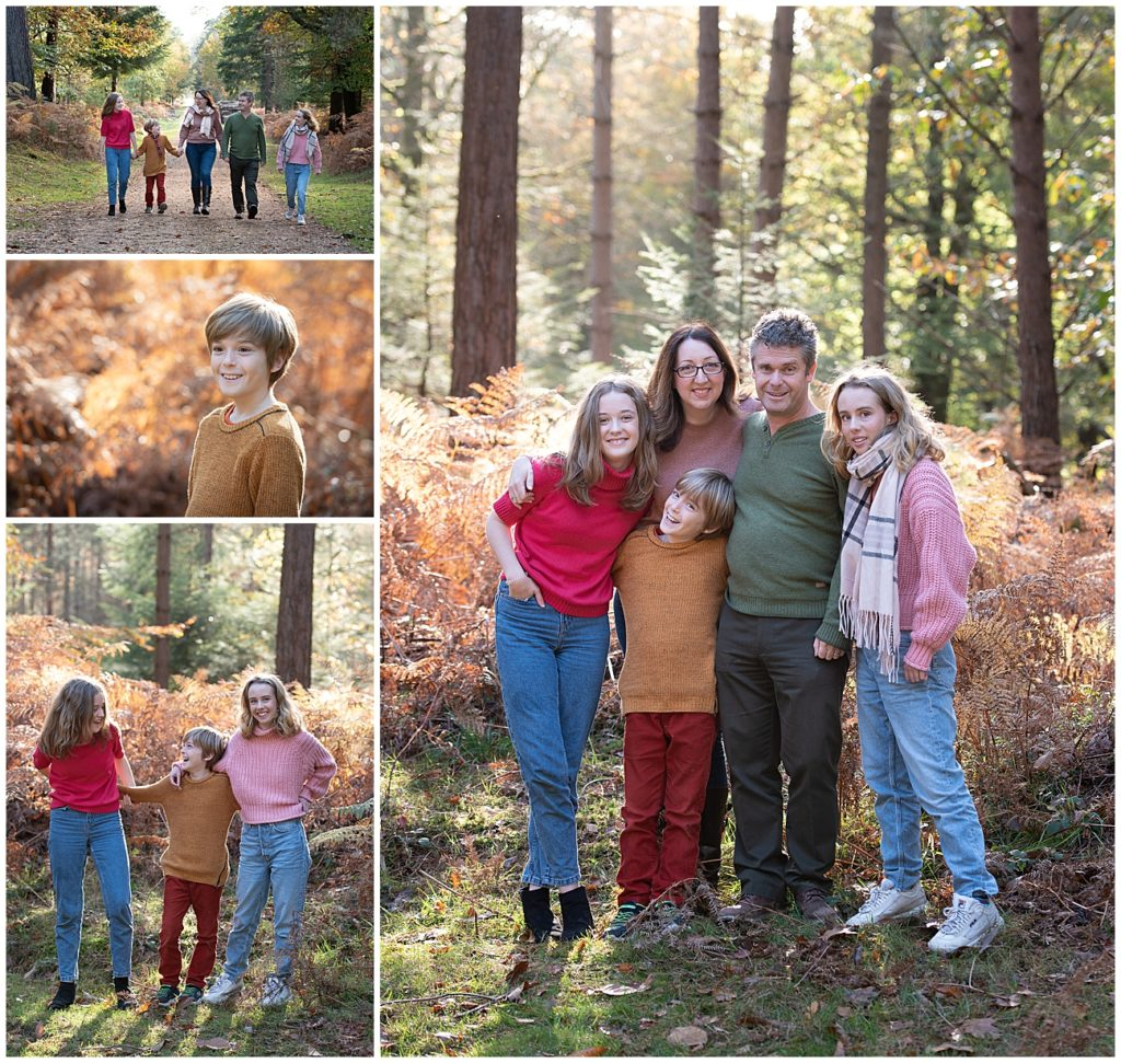 family autumn mini photography sessions